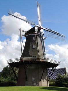Molí. Província de Groningen. Països Baixos. Holland