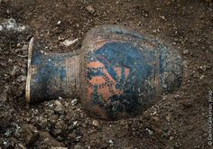 A wine pitcher depicting Dionysus has been unearthed at a huge royal Celtic burial in France http://www.archaeology.org/news/3061-150305-france-celtic-tomb
