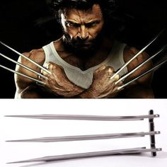 Active Halloween Cosplay X Warrior Wolverine Logan Knife Claws 1:1 Props A Pair Of Super Hero Wolf Claw Weapons For Men And Women Apply Easy And Simple To Handle Novelty & Special Use Costumes & Accessories
