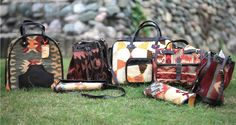colourful kilim bags from Boriya Basta. Boho much? #ifoundawesome #lbbdelhi