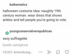 I lobe historical Halloween costumes.