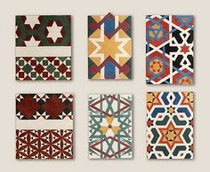Islamic patterns.