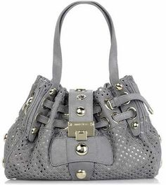 Grey Jimmy Choo Handbag