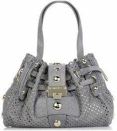 Grey Jimmy Choo Handbag