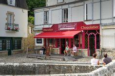 Saint-Goustan - Port d'Auray Bretagne Morbihan France | Biscuitier Larnicol Chocolatier.