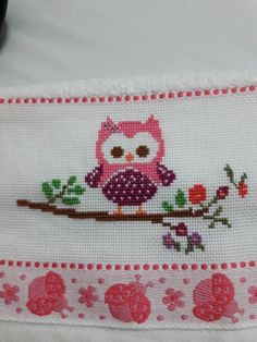Cross Stitch Borders, Cross Stitch Designs, Cross Stitch Patterns, Wrist Warmers, Crochet Motif, Baby Knitting Patterns, Sewing Hacks, Cross Stitch Embroidery, Diy And Crafts