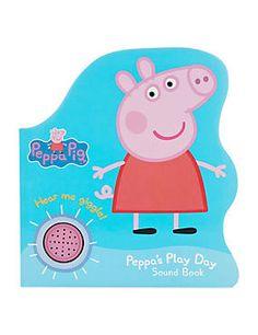 Peppa Pig™ Shaped Sound Book