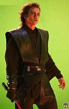 Hayden Christensen on Star Wars Revenge of the Sith Set