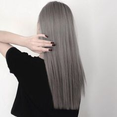 Image de hair, black, and grey
