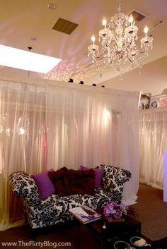 Chic Bridal Salon Decor
