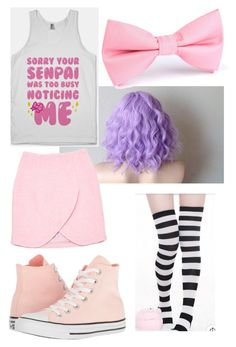 """""""The Senpai Stealer"""" by theunknownrises on Polyvore featuring Converse and Carven"""