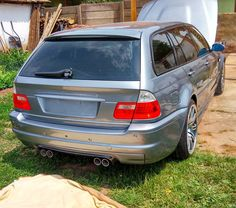 Too many doors on this M3? . . *** Follow if you like ***… E46 Touring, Bmw Wagon, Bmw Cars, Station Wagon, Bmw E36, Diffuser, Doors, Models, Instagram