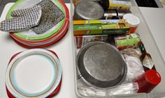 A blog article on preparing a Kitchen Camp Box for your next camping trip.  Downloadable pdf checklist is included too!