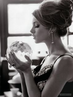 updo - Ashley Greene in Instyle Russia