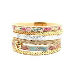 http://www.diabolobijoux.com/fr/bijoux/1364-manchette-mode.html #bracelet #manchette aux couleurs #pastel