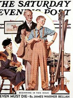 """Giclee Print: """"First Long Suit,"""" Saturday Evening Post Cover, September 1937 by Joseph Christian Leyendecker : Norman Rockwell Art, Norman Rockwell Paintings, Joseph, Jc Leyendecker, Saturday Evening Post, American Illustration, Vintage Magazines, Mail Art, American Artists"""
