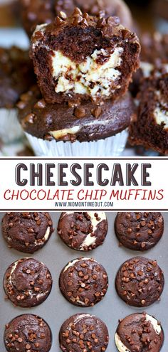 Muffin Recipes, Baking Recipes, Dessert Recipes, Delicious Desserts, Yummy Food, Healthy Food, Vegan Recipes, Recipes Dinner, Easy Recipes