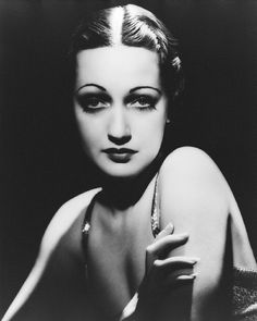 1930s Film Star Dorothy Lamour- black and white photo of early 20th Century Hollywood film legends 1920s 1930s women's hair and makeup style