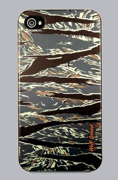 TIGER CAMOUFLAGE 2 iPhone 4 or 4s Snap Case by WLRMD #wellarmed