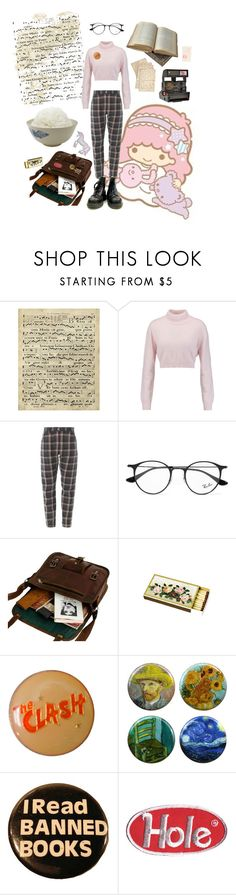 """A little bit of something else"" by metheexcellent ❤ liked on Polyvore featuring Art Classics, Balmain, Ray-Ban, Cultura, Polaroid and Chandelier"