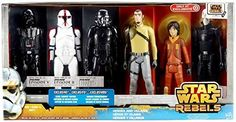 Star Wars Rebels Exclusive 12 Inch Action Figure 6-Pack Heroes and Villains Price - $54.70