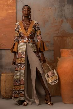 African Inspired Fashion, Ethnic Fashion, African Fashion, African Beauty, African Street Style, Fashion Illustration Dresses, African Models, Ethnic Outfits, Ankara Styles