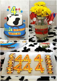 Woody's Round Up - Toy Story, Woody, Jessie, Cowboy Woody Birthday Parties, Woody Party, Toy Story Birthday, Boy Birthday, Birthday Celebration, Birthday Ideas, Jessie Toy Story, Woody And Jessie, Cumple Toy Story