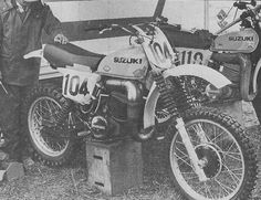 1976- Suzuki RH500 of Roger DeCoster