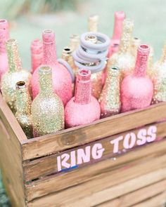 Pin for Later: 36 Brilliant Ideas For the Ultimate Kid-Friendly Wedding Encourage Ring Toss