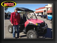 Thanks to Trevor McBae from Lucedale MS for getting a 2012 Polaris RZR S 800. @HattiesburgCycles