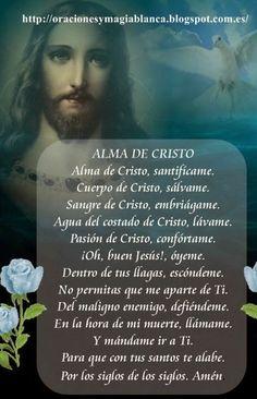 Oracion ALMA DE CRISTO