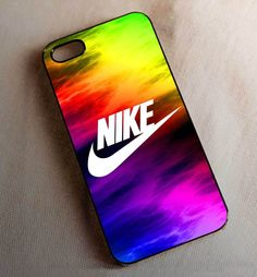 NIKE Swoosh Rainbow Color Case for iPhone 5 5s 6 6plus iPod 5 Case #UnbrandedGeneric