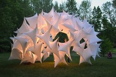 Underwood pavilion by Gernot Riether and Andrew Wit installation exhibition