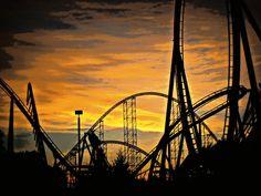 Cedar Point Sunset.