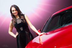 The Geneva Motor Show 2016 -  Infiniti Show Girl