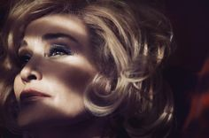 Jessica Lange as the new face of Marc Jacobs Beauty because OF COURSE.
