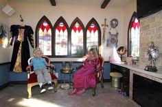 Castle playhouse interior