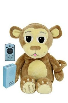 Kids' MP3 Players - LullaPets Plush Companion Mozart the Monkey Huggable Pet featuring a Removable MP3 Player -- You can get more details by clicking on the image.