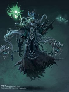 The Lich by ChaoyuanXu on deviantART