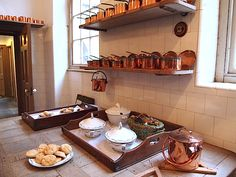 Kitchen - Saltram House - Plymton - Plymouth - England