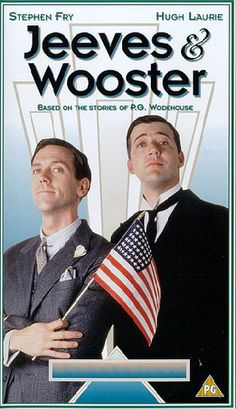 They just ARE Jeeves and Wooster! Hugh Laurie and Steven Frye.real British Humor at its very best. British Humor, British Comedy, Jeeves And Wooster, Bbc Tv Series, Hugh Laurie, Comedy Tv, Best Tv, Comedians, Favorite Tv Shows