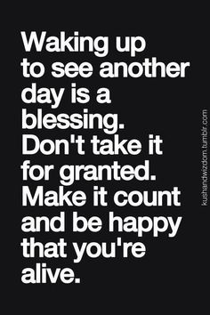 Dont take it for granted