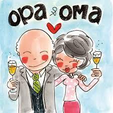 Opa & Oma - Blond Amsterdam - omdat mijn ouders de beste, liefste, warmste opa en oma voor onze kleine Sil zullen zijn