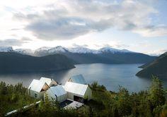 Mountain Hotel designed by Haptic Architects