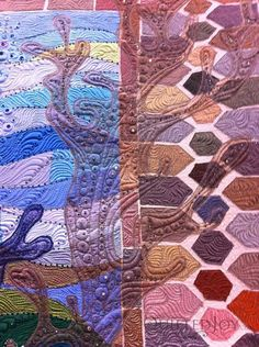 A close up of Claudia Pfeil's Turtle Bay.