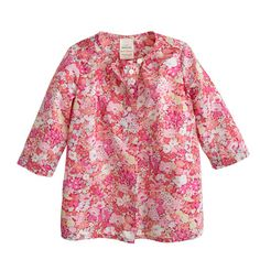 Baby Liberty tunic in Thorpe floral
