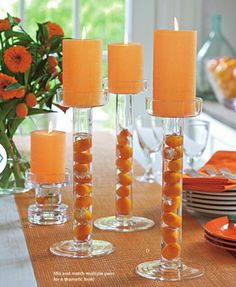 """Add the """"POP"""" of color to your decor www.partylite.biz/cindim To place your order"""