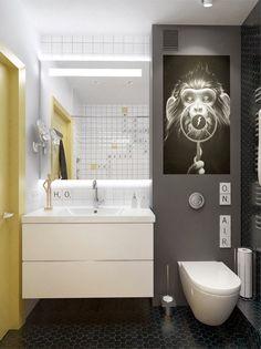 aranżacja małej łazienki,pomysł na małą łazienkę,jak urządzić małą…