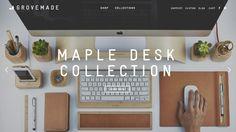 20 Awe-Inspiring Websites with Workspaces in the Background - Web Design Ledger Great Website Design, News Website Design, Website Designs, Toronto, Corporate Blog, Google Fonts, Mobile Ui Design, Photography Marketing, Web Design Trends