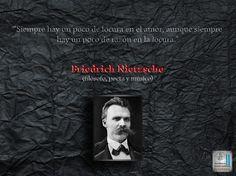 Friedrich Wilhelm Nietzsche fue un filósofo, poeta, músico y filólogo alemán, considerado uno de los pensadores modernos más influyentes del siglo XIX.